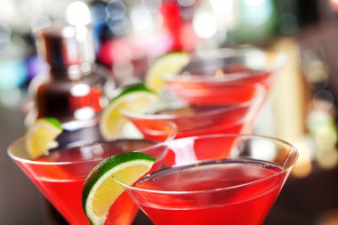 Cosmopolitan, or informally cosmo, is a cocktail made with vodka, triple sec, cranberry juice, and freshly squeezed lime juice stock vector