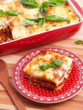Classic italian Lasagna Bolognese