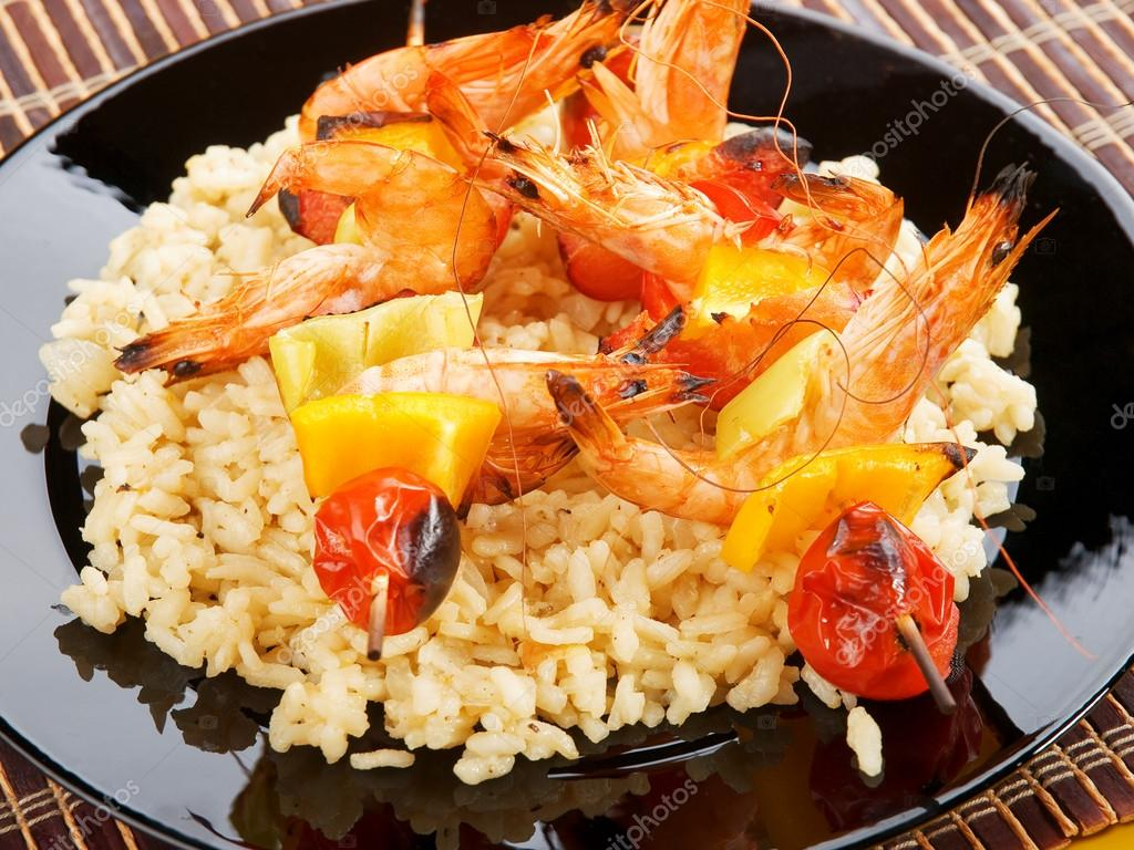 Seafood tyahan or rice with seafood 6