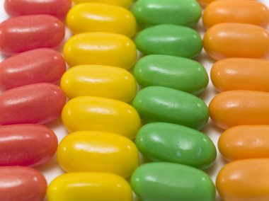 Colored candy Sweets