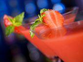 Fotografie Cocktail-Sammlung - Erdbeer Daiquiri