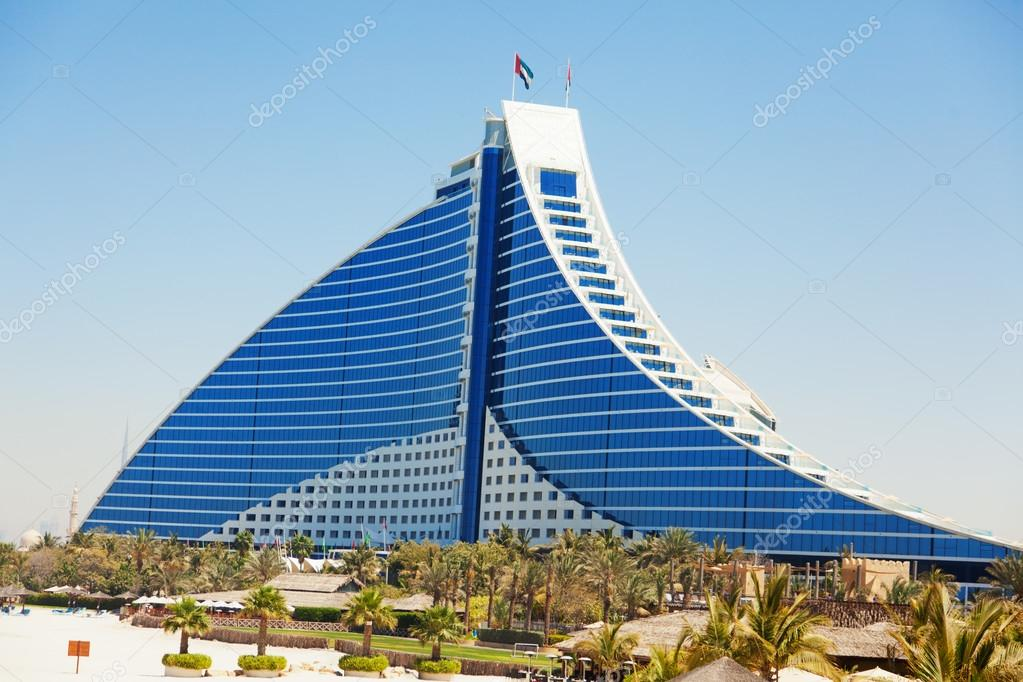 Jumeirah beach hotel dubai stock editorial photo for Hotel reservation in dubai