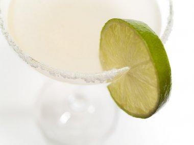 tasty drink on background
