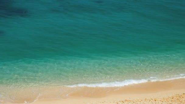 Tropical beach top view