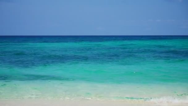 Tyrkysové vody tropické pláži 1080p 60 fps