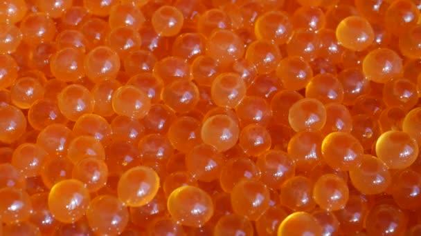 Uhd die frischen roten Kaviar