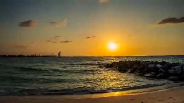 Přechod od západu slunce do noci v Dubaji, Spojené arabské emiráty