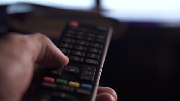 TV vzdálené zblízka