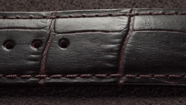 Krokodýlí kůže hodinky náramkové