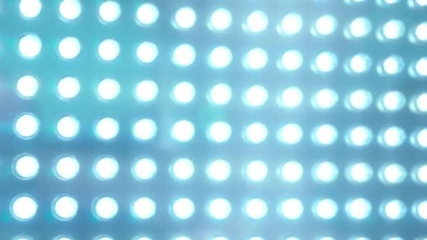 LED panel blue lighting abstract