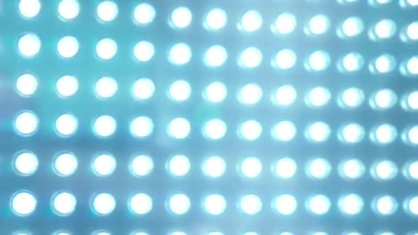 LED panel blue lighting abstract