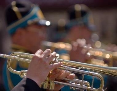 Kazakhstan military band