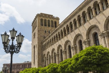 YEREVAN, ARMENIA - MAY 2, 2016: The Government House. Holds the