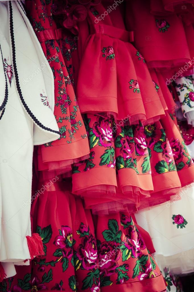 b289aeb1cc2 Παραδοσιακά ρούχα σε Ζακοπάνε, Πολωνία — Φωτογραφία Αρχείου ...