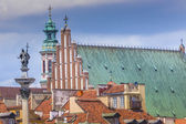 Photo WARSAW, POLAND - JULY  08, 2015 Old town in Warsaw, Poland. The