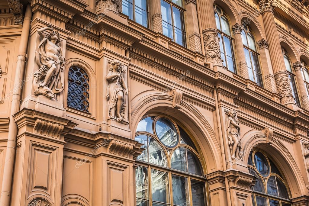 Fragmento do estilo de arquitetura art nouveau da cidade - Art nouveau architecture de barcelone revisitee ...