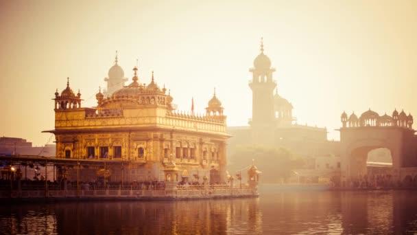 Sikh gurdwara Goldener Tempel (Harmandir Sahib). Amritsar, Punjab, Indien