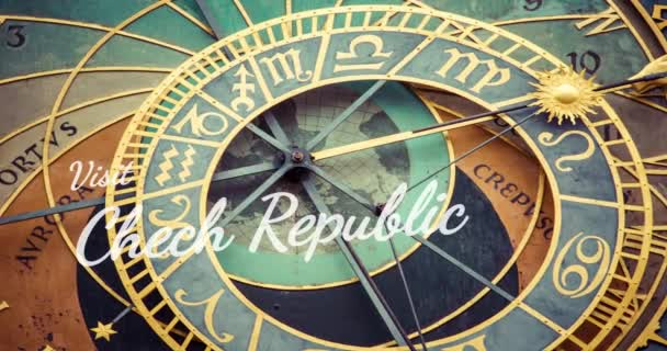 detail Pražský orloj (orlojem) v staré město pražské