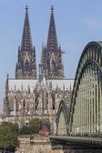 Katedrála a most Hohenzollern - Kolín nad Rýnem, Německo