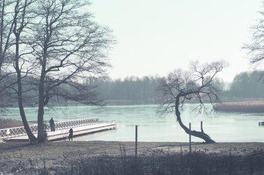 Lake Wigry. Wigry National Park. Suwalki. Poland
