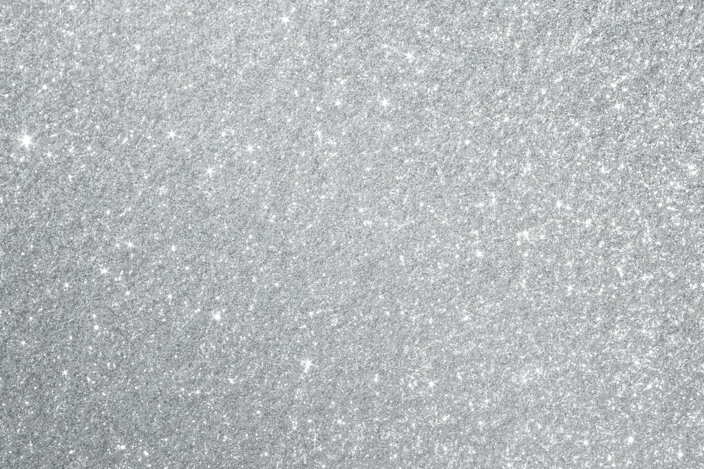 Silver Glitter Background Texture