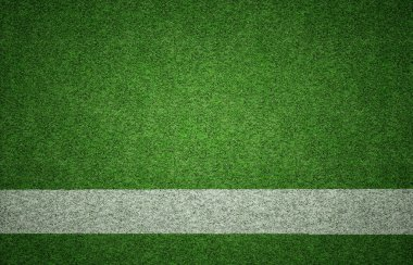 Sports Background on Grass Texture