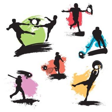 Grunge Sport Illustrations