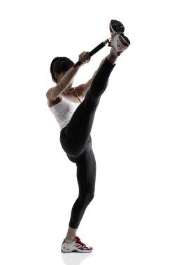 Sport karate girl