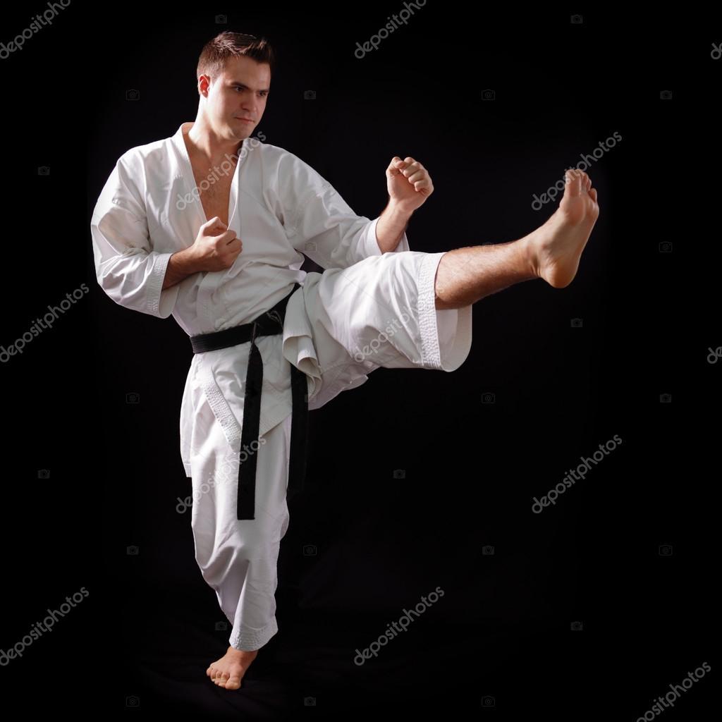 Karate man