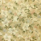 Vintage wallpaper with floral  background