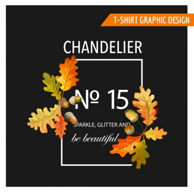 Vintage Floral Graphic Design - for T-shirt, Fashion, Prints - in Vector
