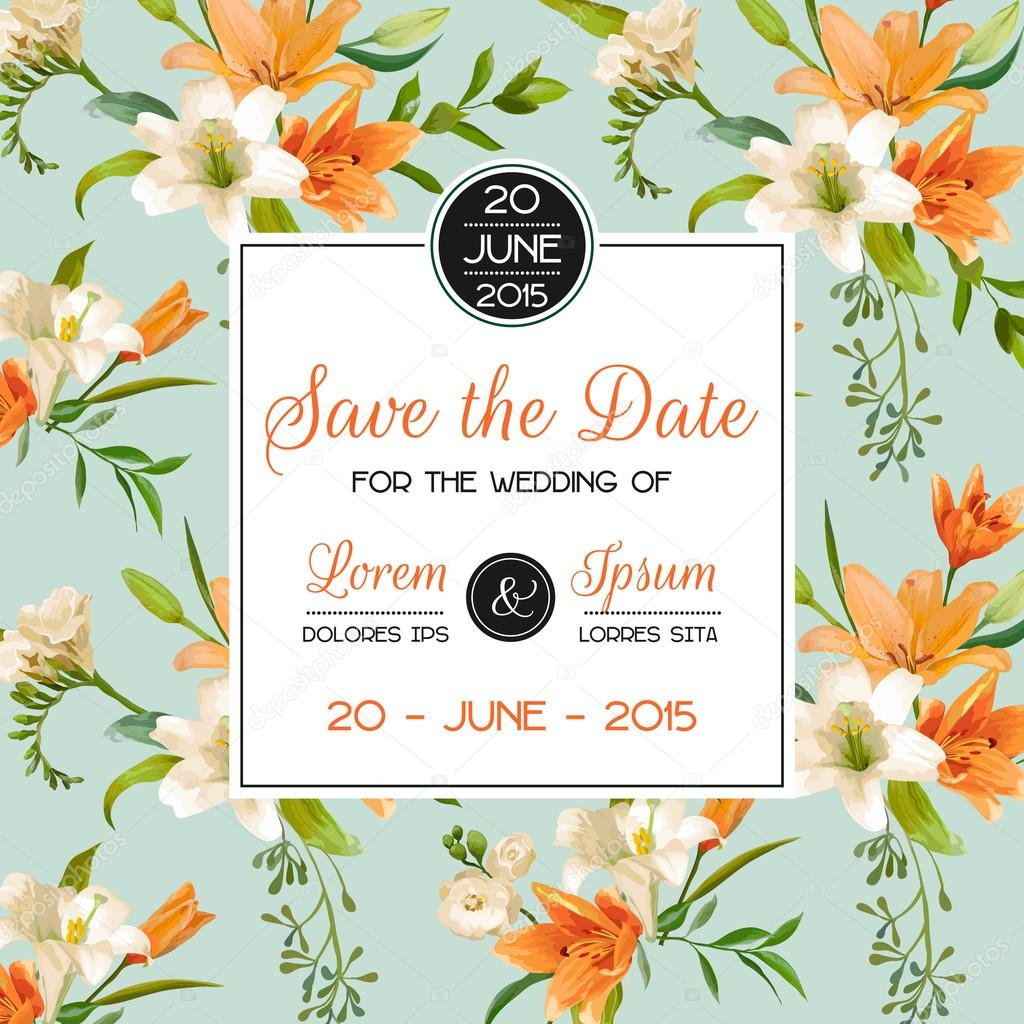 Invitation or Congratulation Card - for Wedding, Baby Shower ...