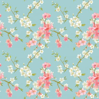 Spring Blossom Flowers Background