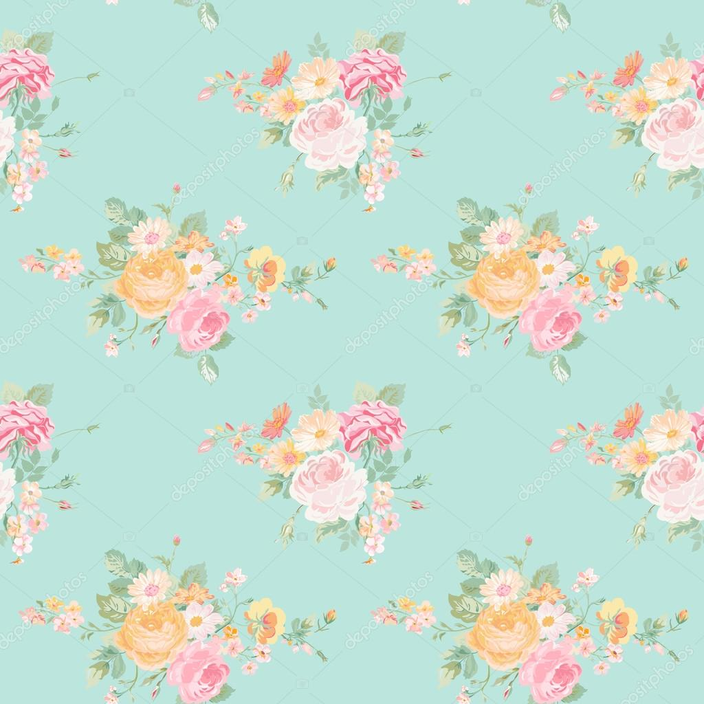 seamless floral background - photo #26