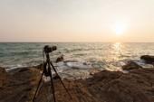 Fotografoval při západu slunce