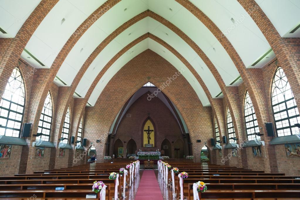 Hochzeitsblumen In Der Kirche Stockfoto C Noname454 88534672