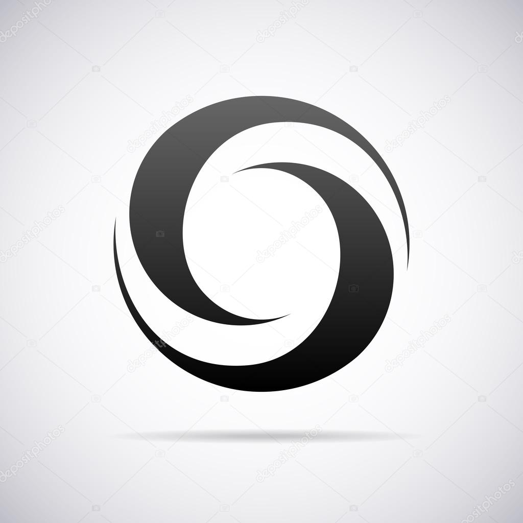 logo for letter o design template vector illustration vector by alisher
