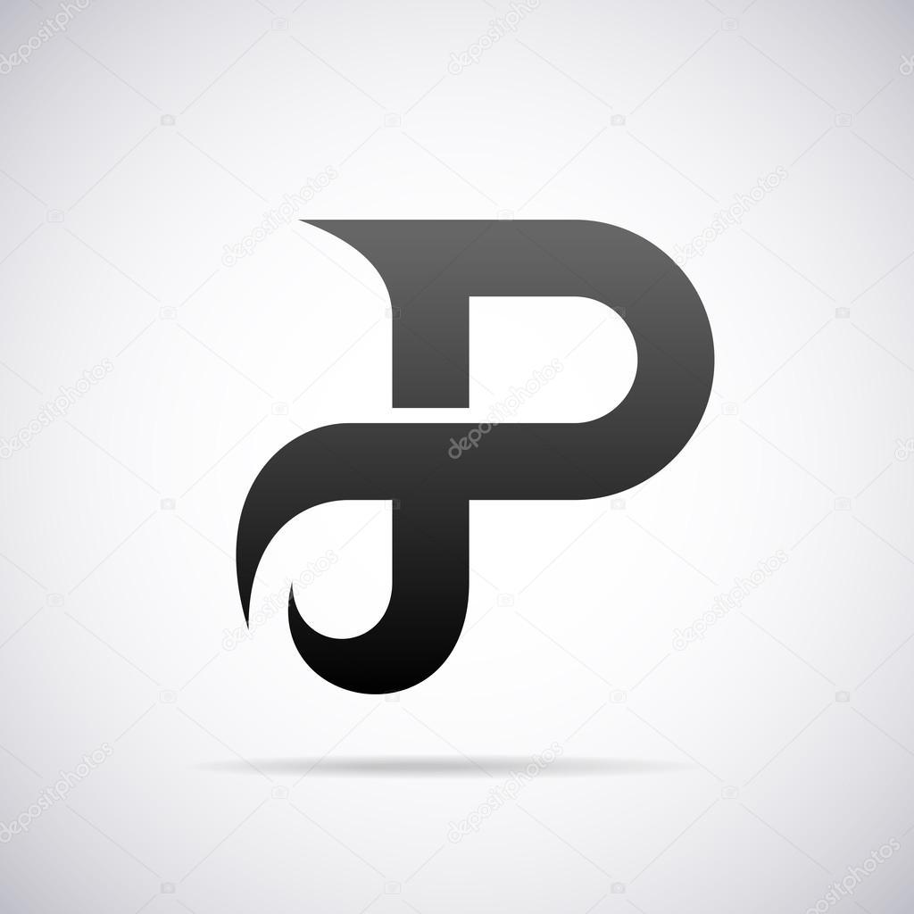 Marchio di vettore per la lettera p design template vettoriali illustrazione vettoriale del modello di disegno di marchio per la lettera p vettoriali di alisher thecheapjerseys Images