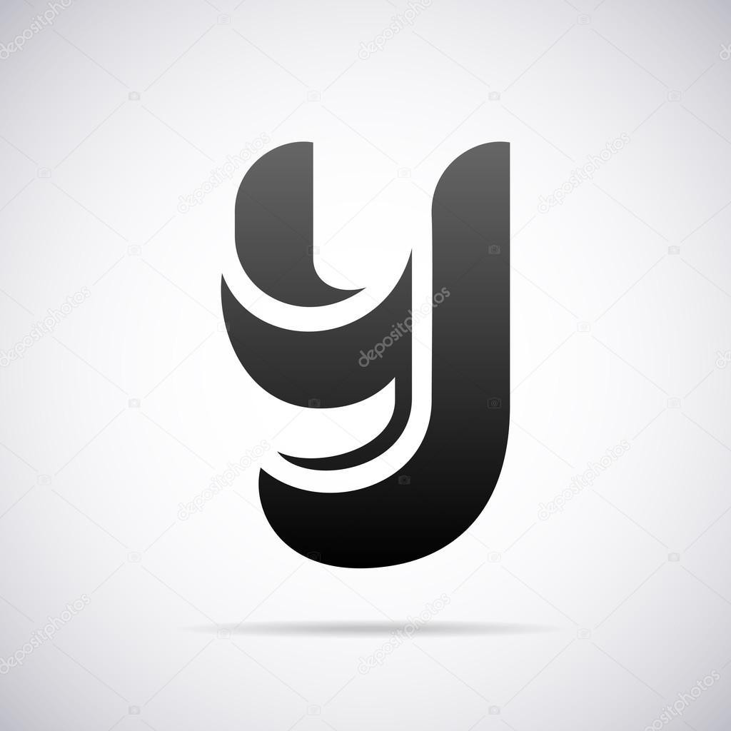 logo for letter y design template vector illustration vector by alisher