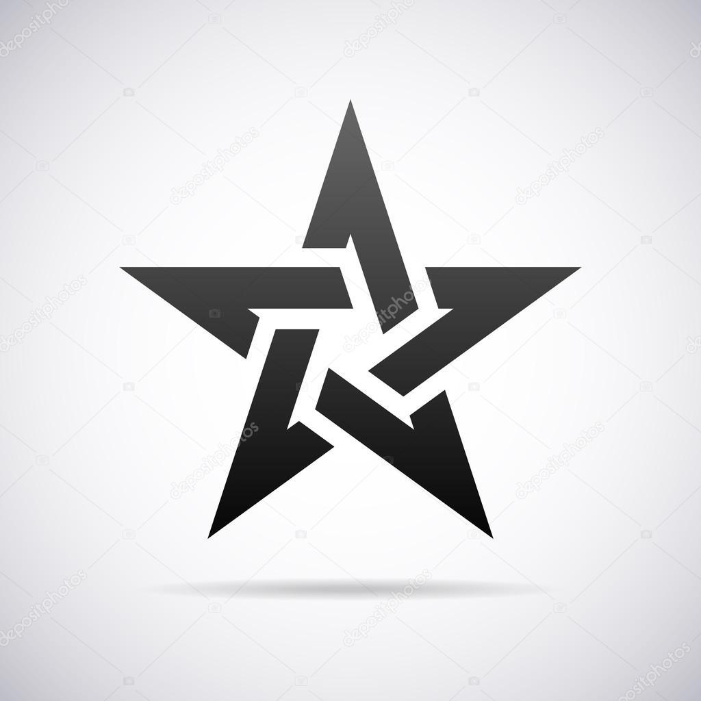 vector star logo design template � stock vector 169 alisher