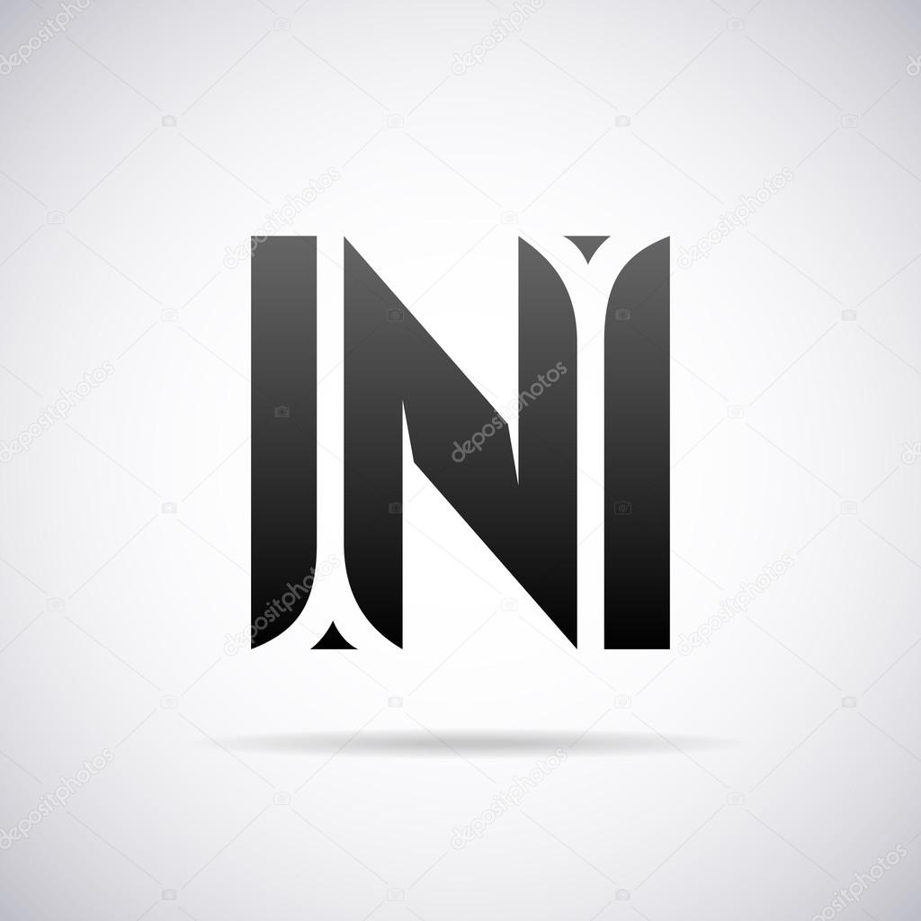 Vector logo for letter n design template stock vector alisher logo for letter n design template vector illustration vector by alisher maxwellsz