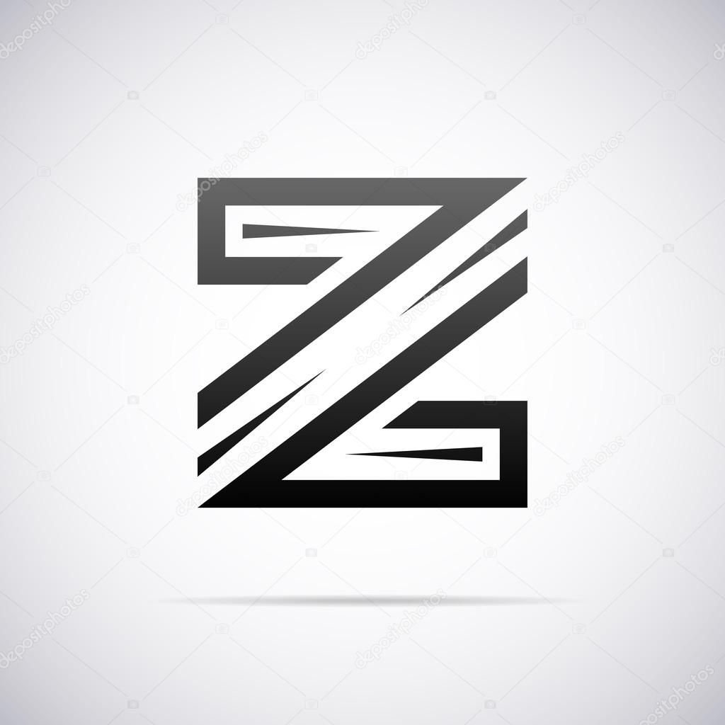 Logo For Letter Z Design Template Vector Illustration U2014 Vector By Alisher