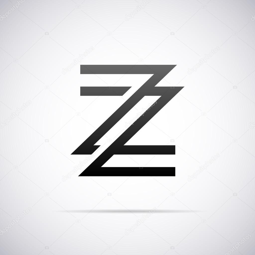 Logo For Letter Z Design Template Vector Illustration U2014 Vector By Alisher
