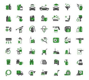 auto chemistry icons