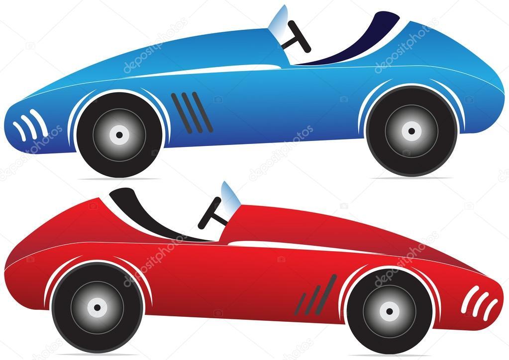 Macchinine da corsa — Vettoriali Stock © rolaks #56784049