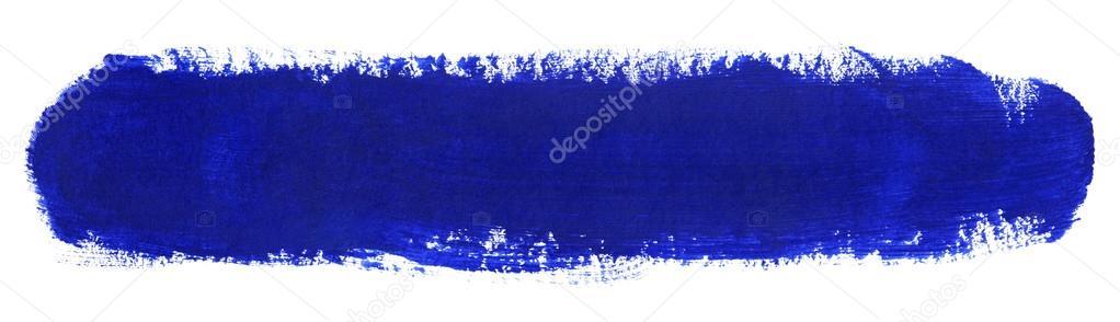 blauer strich