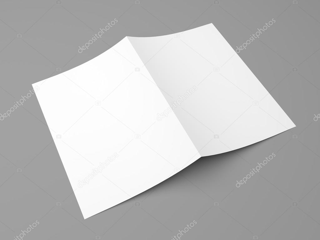 Blank, gefaltete Flyer, Broschüre, Postkarte, Visitenkarte oder ...