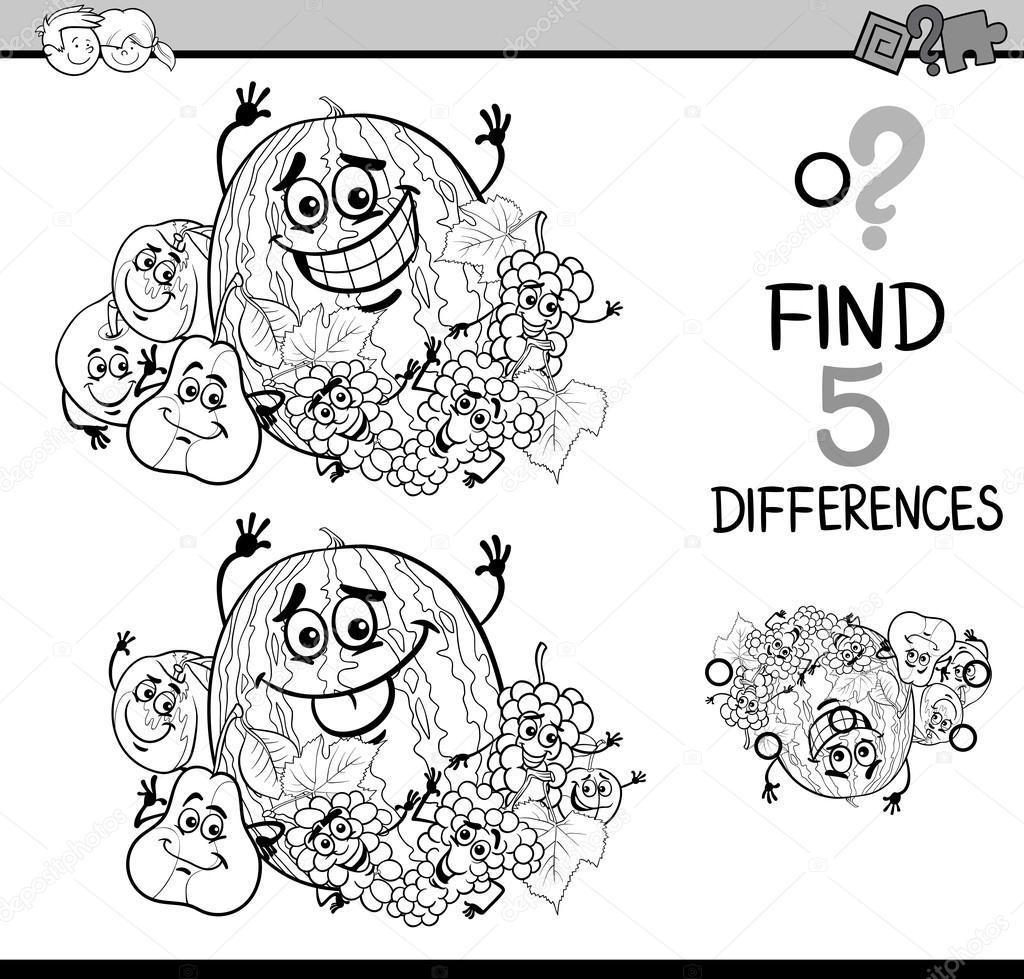 Farkların Boyama Kitabı Oyunu Stok Vektör Izakowski 101510780