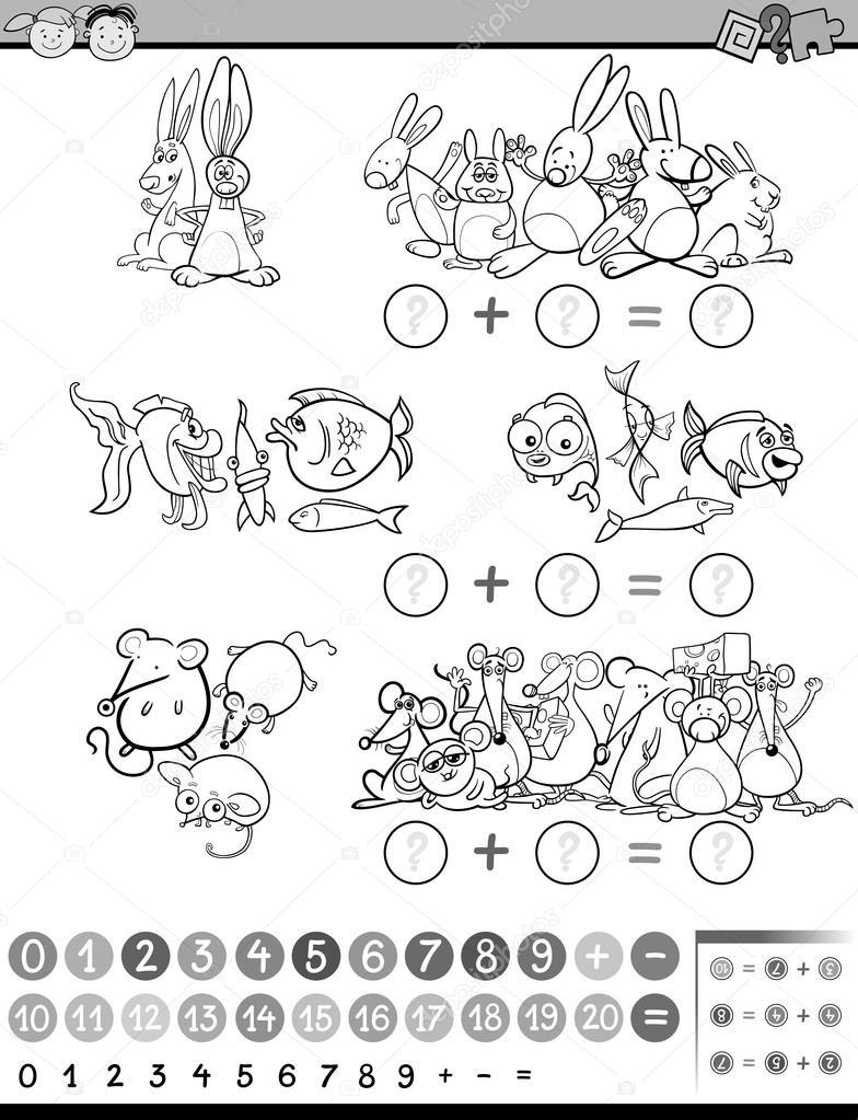 Matematiksel Oyun Renklendirme Stok Vektör Izakowski 103601780