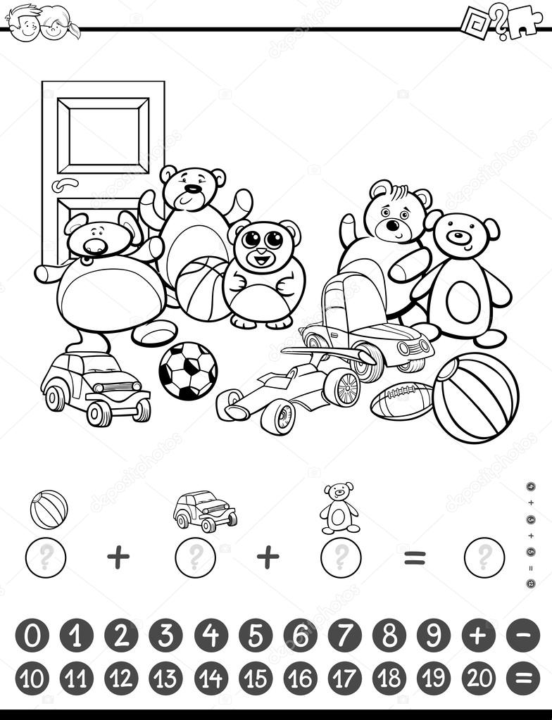 Imágenes Matematicas Para Colorear Actividad De Matemáticas Para